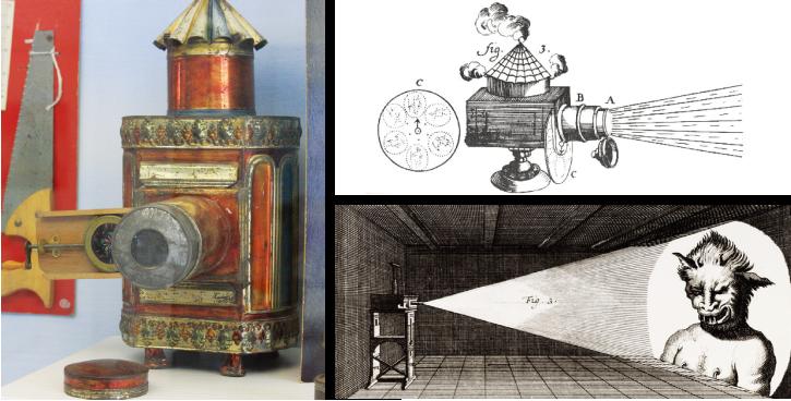 德国耶稣会神父阿塔纳斯科雪发明了 魔术幻灯